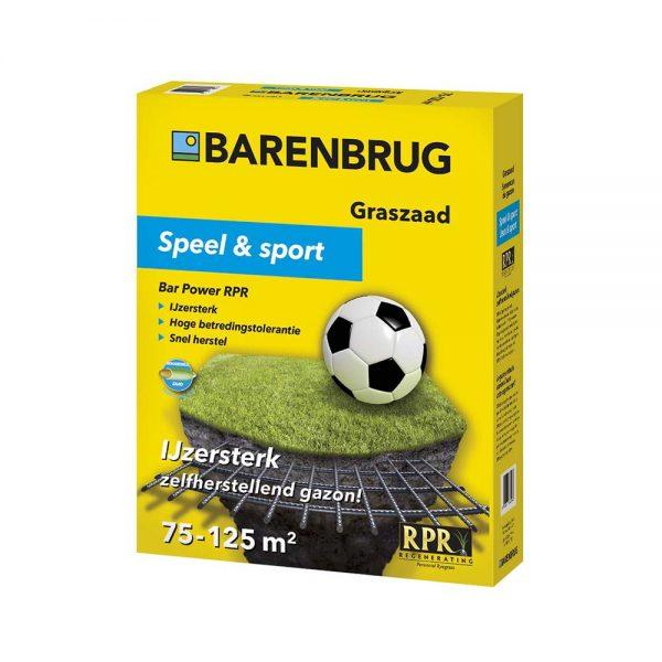 Barenbrug RPR Graszaad Speel en Sport 2,5 kg - Van Grasman